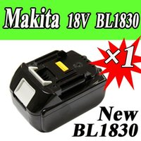 Wholesale New Makita V Lithium Ion Battery BL1830 for Cordless drill Makita V Battery order lt no track