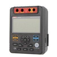 Wholesale 2500V Digital Insulation Resistance Testers Voltmeter Auto Range Gohm w USB Interface Meters UNI T UT512