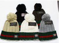 Wholesale HXF color men women warm wool hat CUCC knitted hat