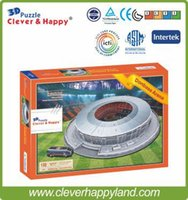 arena footballs - FC Shakhtar Donetsk Football Club Home Donbass Arena D Puzzle Stadium Model