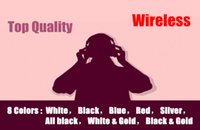 Wholesale Bluetooth Headset Headphone with retail box Earphone Sport Super DJ Stereo Wireless Bluetooth Earbuds noise cancelling headphone color