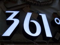 Wholesale 3D illuminated LED channel letters logo signage lighting customized sign indoor outdoor display advertise