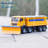 alloy snow shovel - Kaidiwei alloy engineering vehicle model shovel snow remover special car toys winter service vehicle