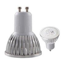 Cheap 2014 New Item Led Spotlight Lower Power Consumption Low Heat Warm Pure Cool White 3W 12V or 85~265V Spot Light Bulbs