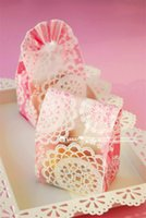 baker bags - lace cookie retail packaging flower bread puff gift lovely baking bakery baker store plastic Gift Favors bag