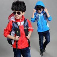 american sports wear - Spring xayakids Children s wear boy s coat autumn the new boy s assault clothing children s youth sports jacket