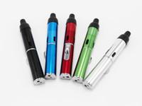al por mayor vaporizadores fuman-DHL click N Vape clic y clic en un vaporizador toke echar un Vape echar un toke pipas de metal ligero con vaporizadores