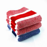 Wholesale 1 Cotton Towel Solid red and blue Face Towel Plain Dyed Quick Dry cm cm Woven Roll Hot Sell