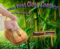 Wholesale Benbu Ghz Full Bamboo wireless mouse wooden wireless mouse USB environmental protection material Green Liffe eco Products