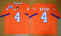 Wholesale Clemson Tigers DeShaun Watson Diamond Quest College Football Jersey Men s Stitched Logo High quality jersey Size S XL