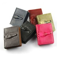 Wholesale Womens Wallet Fashion Womens High grain Crocodile Grain and PU Leather Wallet Hot Lady Waterproof and More Color Wallet