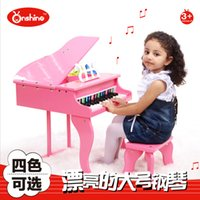 Wholesale Onshine simulation educational early childhood children small piano piano key high grade wood instrument with tablature