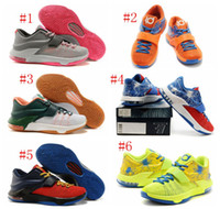 Wholesale New Colors KD7 VII Easy money July th k degrees global game Sneakers KDs VII New Arrival KD Mens Basketball Shoes for sale