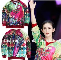 Wholesale Happy Camp Xie Na with paragraph parrot hedging sweater M69820M69832M69819M69823M69828