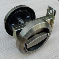 Wholesale Bronze Stainless Steel Recessed Cup Handle Privacy Sliding Door Locks House Lock Door Handle with Lock