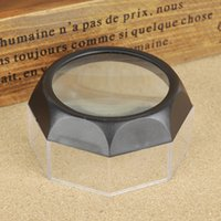 Wholesale Table Loupe Magnification Reading Magnifier X mm Bowl Shape Loupe New Arrival ABS Reading Magnification Tools