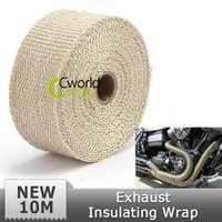 auto exhaust headers - m Car Auto Exhaust Insulating Wrap Header Wrap Exhaust Pipe Wrap