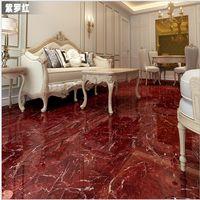 Wholesale Ceramic tile is glazed pottery Sitting room background wall slip red floor tile
