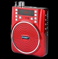 Wholesale The portable multifunctional high power amplifier Loudspeaker The guide teaching loudspeaker The walkman The old man amplifier radio spea