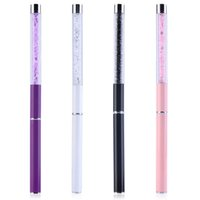 Wholesale 1Pc Nail Art Care Tools Crystal Gel Pen Brush Handle Nail Art Tool Pen Hot Selling