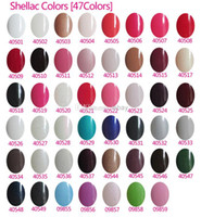 Cheap Fashionable Gelish Nail Polish Soak Off Nail Gel For Salon UV Gel 242Colors 15ml VS matte nail polish