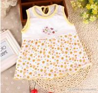 Cheap Baby Dress Girl sundress jumper 100% Cotton Girl pinafore baby dress one-piece dresses lovely