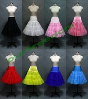 tulle petticoat - 2015 New Design Real Image Cheap Tulle Bridal Petticoat Colorful Mini Skirt In Stock Cheap Bridal Accessories