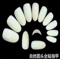 Wholesale 2015 set Clear White Natural Color Acrylic False Half Nails Tips Manicure Salon Nail Art Tips sets