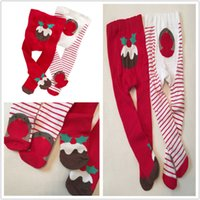 big pile - Autumn Winter Baby Tights Stockings Girls Christmas Pantyhose Kids Pile Big PP Pantyhose for Children