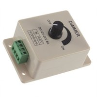 Wholesale 2Pcs Single Color LED Dimmer Switch One Channel Brightness Adjustment Controller DC V DropShipping C1Hot New Arrival