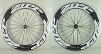 Wholesale 2016 Hotsale White decal mm clincher Carbon wheel C Road Bicycle Full Carbon Wheels alloy braking surface Novatec light hub H
