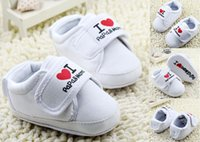 Wholesale Love kids Casual shoes cm baby shoes white walker toddler shoes infant canvas shoes children sports shoes cheap pairs C