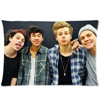 australia hotels - Famous Australia Band Seconds Of Summer Pillowcase Standard x30 inch Zip Pillow Cover