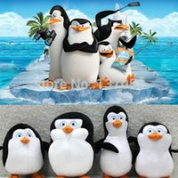 Wholesale Hot sale new Set of The Penguins of Madagascar Plush Stuffed Toys New with Tags cm