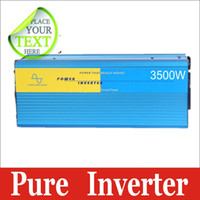 Cheap DC12V to AC 230V 3500W pure sine wave power car Inversor Inversor power supply dc inverter solar air conditioner