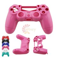 Cheap 2014 Newest Hot controller shell housing cover for Sony Playstation 4 PS4 Bluetooth Wireless Controller Repair Shell,Pink