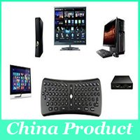 Wholesale T6 Mini Wireless Air Mouse Keyboard Ghz Gyroscope Remote Control Combo For Android TV Box M8 MXQ CS918 MXIII