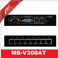 Wholesale 8 CH VGA And Audio Transmitter VGA Splitter Extender VGA Extender
