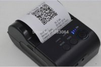 Wholesale 58mm Wireless Portable Bluetooth Printer Android Mobile Printer Mini Thermal Receipt Printer with SDK Belt Case