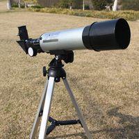 Télescope gros-HD 50mm 90x Monoculaire astronomique avec Portable Tripod Pour Camping Randonnée amateur de plein air Explorez étoiles F50360