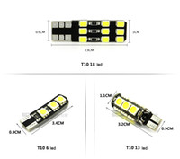 Wholesale T10 W5W LED Canbus Warm White Clearance Lights Super Bright Side Marker Light Parking Light Universal