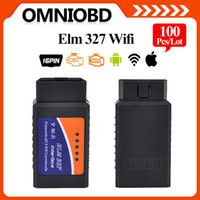 automotive code reader for android - 100PCS ELM327 Wifi Scanner Auto OBD2 Diagnostic Tool ELM WIFI OBDII Scanner V Wireless For Both Android IOS