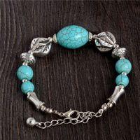 beautiful slaps - Beautiful Attractive Trendy Turquoise Bracelet For Women