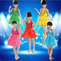 Wholesale baby girls ice and snow dresses Elsa princess cosplay dress summer sequin tube dress with big flower children dance dress pageant dress
