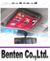 Wholesale hot new utility vehicle sun visor CD folder CD package car shade supplies sunshade LLFA3170F