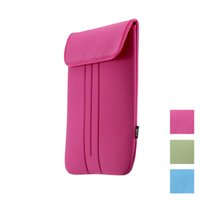 Wholesale Fastener Tape Closure Design Soft Sleeve Bag Cover Case quot Portable for MacBook Air Pro Retina Ultrabook Laptop Notebook