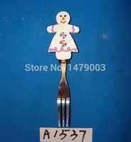 Wholesale cheese butter knives set with clown shaped handle