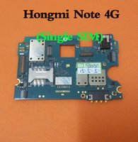 Wholesale Original G G Motherboard for Xiaomi Hongmi Redmi RedRice Note quot Qualcomm GB RAM GB ROM Quad Core G FDD
