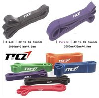 Wholesale 2 Psc Levels Available Yoga Pull Up Assist Bands Crossfit Exercise Body Fitness Long Resistance Bands cm cm
