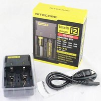 Wholesale Universal Nitecore I2 Intelligent Battery Charger in Muliti Functional Charger for